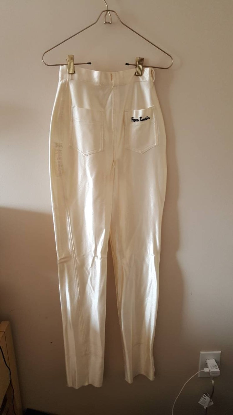 Pierre Cardin Satin High Waisted Pants