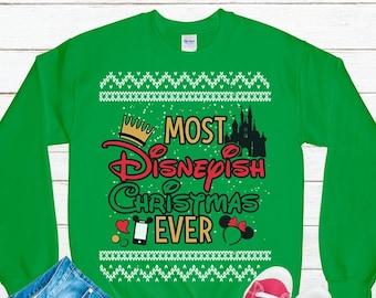 disney christmas sweater disney family holiday mickeys very merry disney castle disney family shirts mickey mouse christmas shirt - Disney Christmas Sweaters