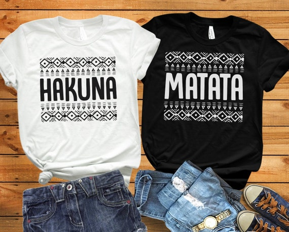 Lion King sweatshirt  Hakuna Matata Disney Shirt,Hakuna Matata FM117 Hakuna Matata tees Disney Matching tshirt Disney hoodie
