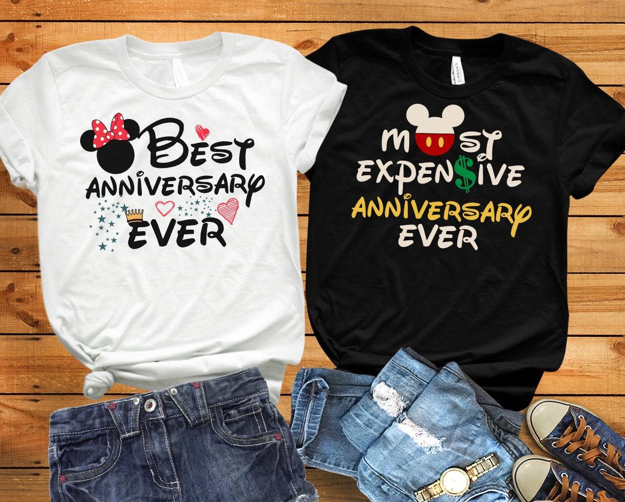 Disney anniversary shirts Disney husband wife shirts ...