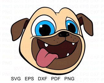 Puppy Dog Pals Bob Vector Clipart Svg Eps Dxf Pdf Png Etsy