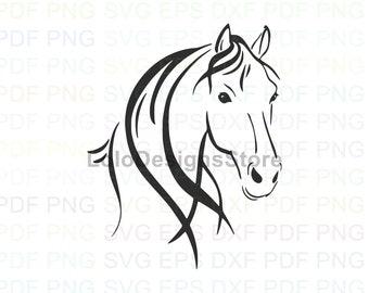 Head Horse Svg Etsy
