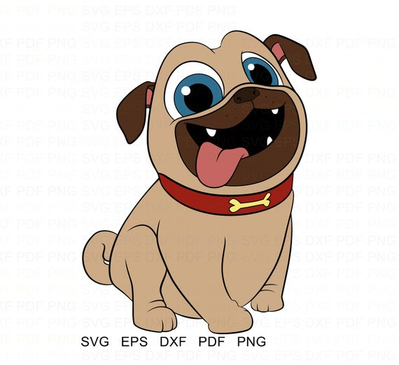 Puppy Dog Pals Rolly Vector Clipart Svg Eps Dxf Pdf Png Etsy