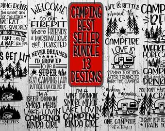 d61b4fb46 Camping Bundle, Campfire, Campfire Svg, Campground, Campground Svg, Firepit  , Camping, Camping Crazy Svg, Camping Svg, Camping Friends Svg,