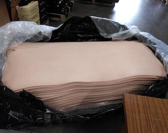 FULL GRAIN Tooling VegTAN Natural Leather THICKNESS 2/3-3/4-5/6-8/9-9/10-11/12 -13/15 Oz