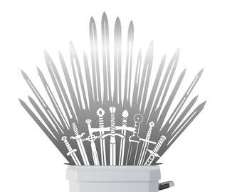 Game Thrones Toilet Etsy