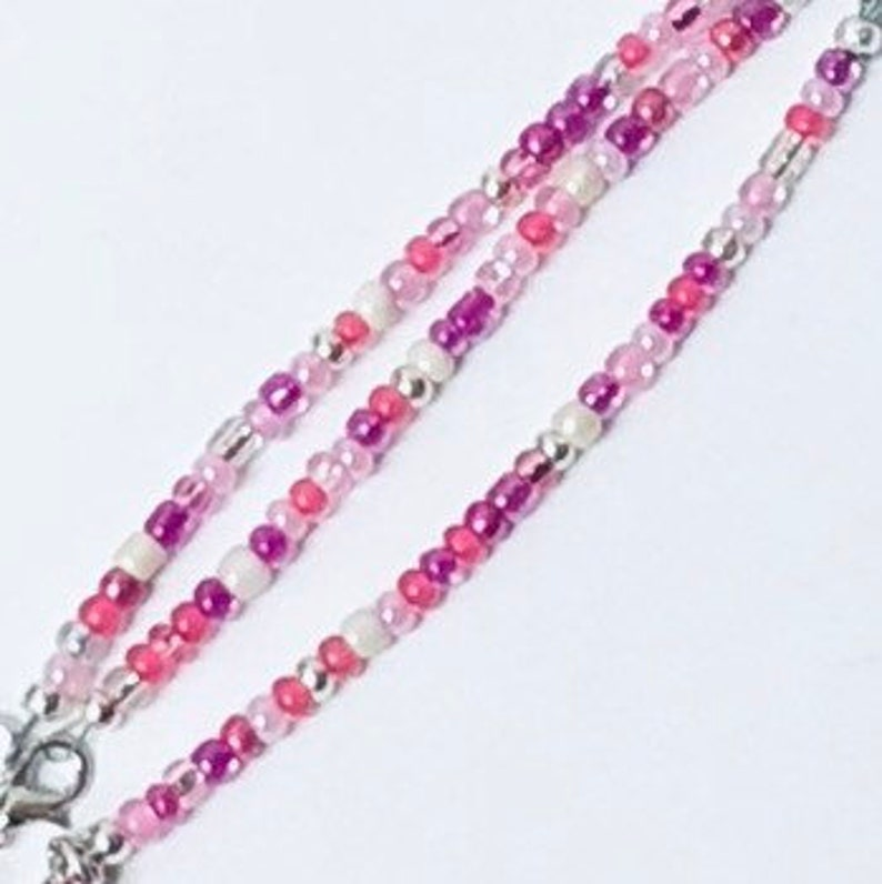 Pinks /& White with Silver Perfect for a young girl or Nursery Pink High Heel Pull