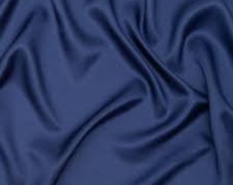 112 White Bemberg Cupro Dress Lining Fabric