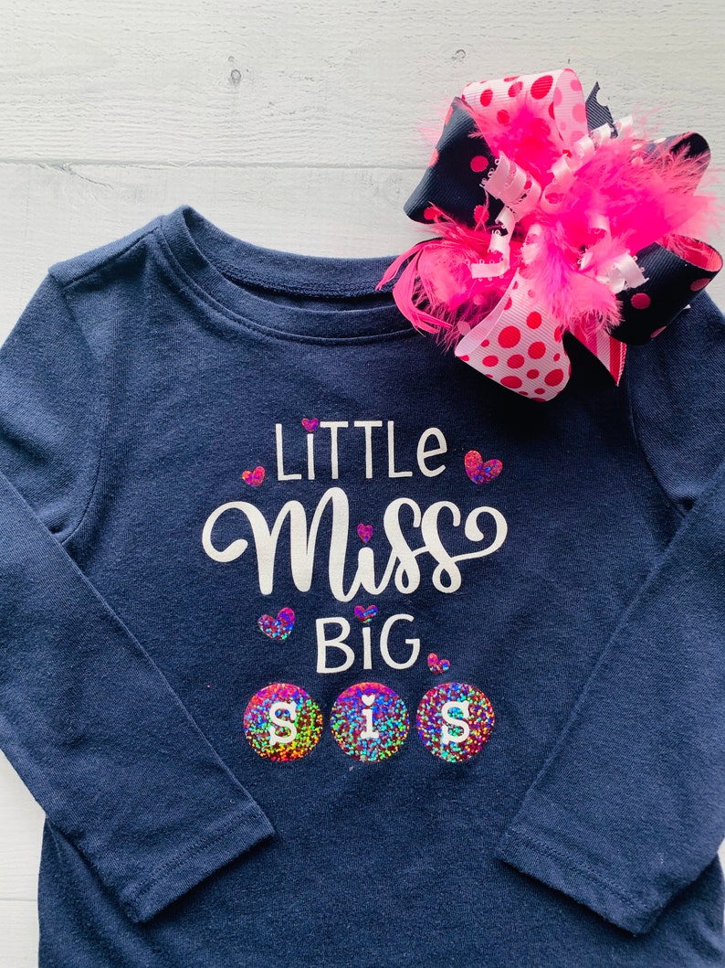 Little Miss Big Sis Shirt