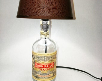 Don Dad, Rum, Lamp, Upcycled, Gift