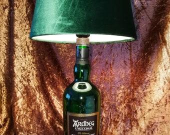 Ardbeg UIGEADAIL Islay Single Malt Scotch Whisky, Lamp, Upcycling, Gift