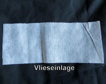 Medical. PP - Fleece insert for masks for self-cutting