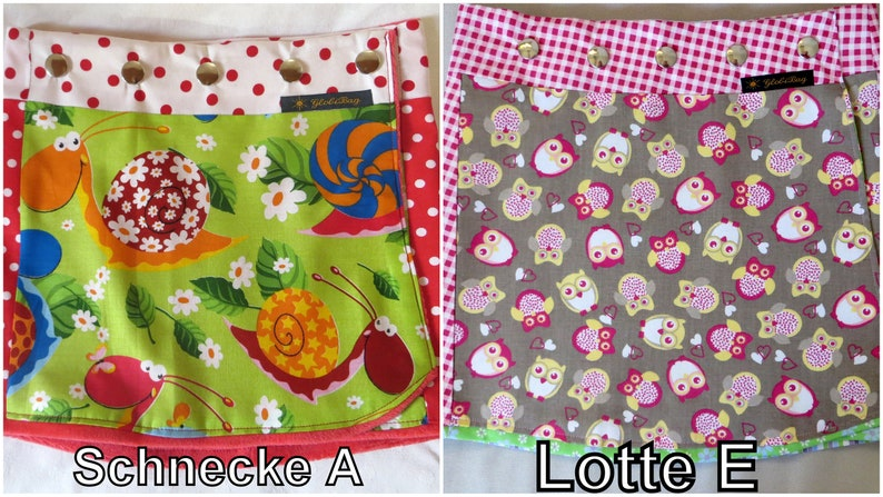 Children reversible skirt 2 sides SchneckeALotteE in 3 image 0