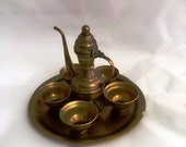 beauty Antique copper Dallah islamic art Coffee Pot Bedouin palestinian arabic