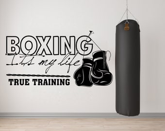 Custom Door Decals Vinyl Stickers Multiple Sizes Boxing Training Phone Number White Blue Business Boxing Outdoor Luggage /& Bumper Stickers for Cars White 20X14Inches Set of 10