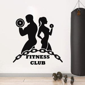 Fitness Decor Art Quotes Gym stickers Fitness Wall Art Gifts Boys Girl Inspiring Customized Exercise Motivational Gym art Vinyl 1148ER