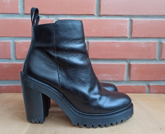 Dr Martens Magdalena 7 UK 9 US 41 EU High Heeled … - image 1