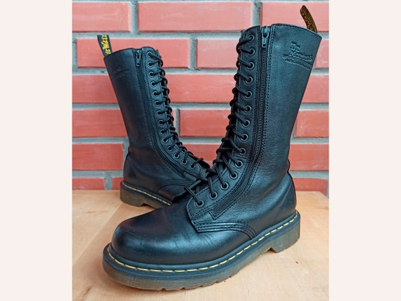 Dr Martens Women 8.5 US 6.5 UK Double Zip Leather