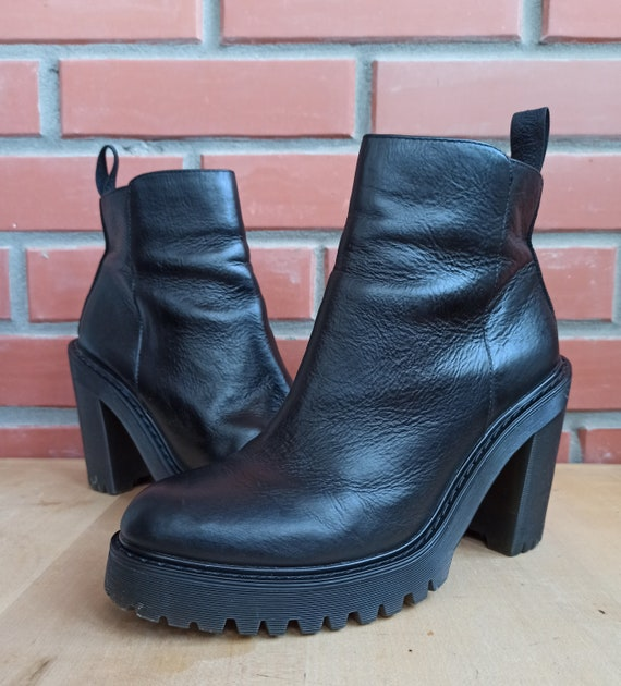 Dr Martens Magdalena 7 UK 9 US 41 EU High Heeled … - image 5