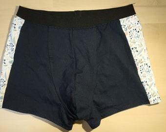 Jor 0979 Caleçons Boxer Boxer Shorts Trunk Imprimé avec motif requin décoratives