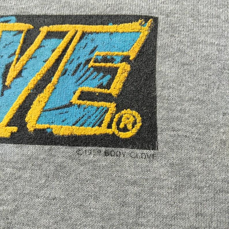 Vintage 90s Body Glove Big Logo Sweatshirt Pull Over Grey Colour Medium Size Rare Item