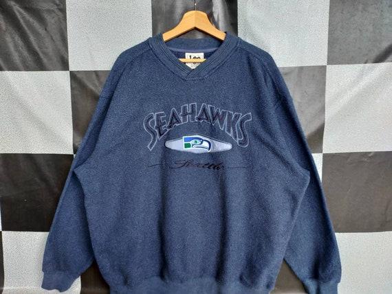 Vintage 90s Seahawks Seattle Crewneck Sweatshirt S