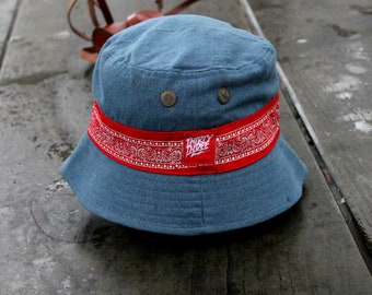 1de7eca4820df Thirty three Bucket hat denim jeans