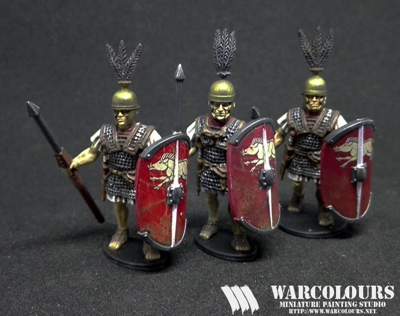 Republican Roman Legionaires with Pilum 01