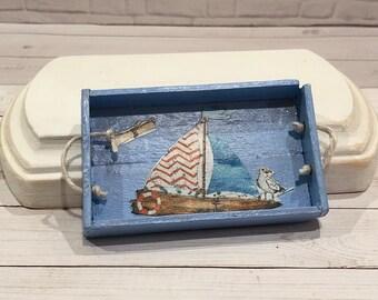Miniature sailboats | Etsy