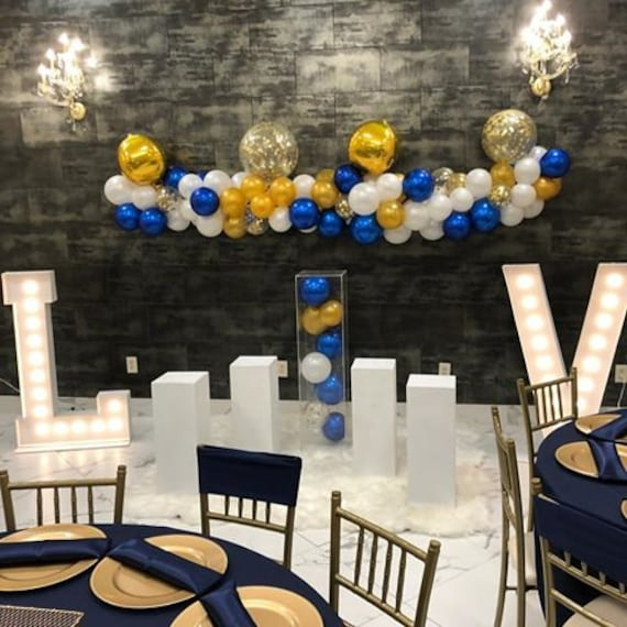 Royal Blue And Gold Party Decorations from i.etsystatic.com