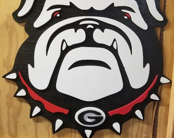 Georgia Bulldogs Sign, Georgia Bulldogs, UGA , university of georgia sign, custom sign