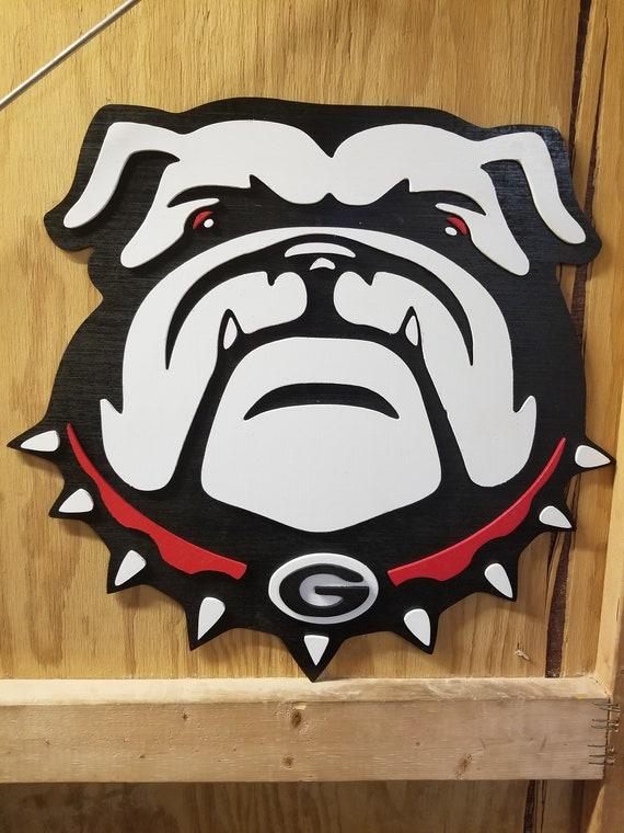 UGA  University of Georgia  Dawgs Bulldogs Door Hanger