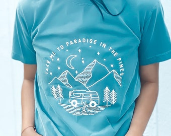 Paradise in the Pines Tee