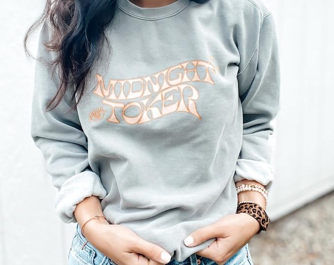 Midnight Toker Crewneck Sweatshirt