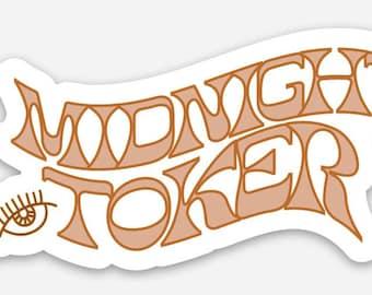 Midnight Toker Sticker