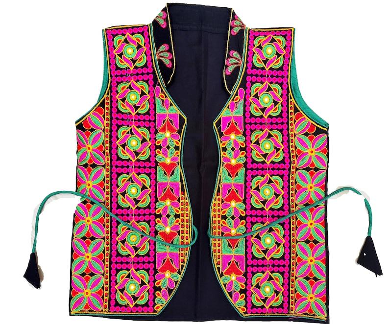 Banjara Jackets Koti hand Embroidery Work Handmade Embroidered Jackets for Women,girls Indian Antique banjara Ethnic Handmade Jacket