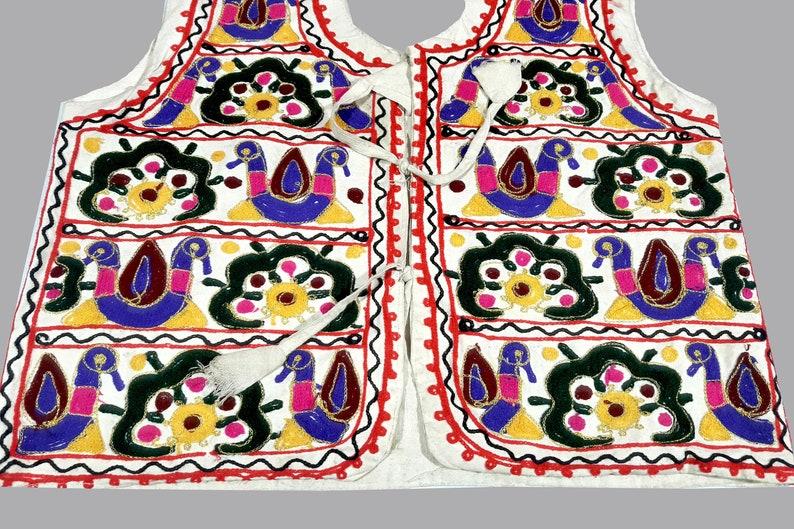 Indian Antique banjara Ethnic Handmade Jacket Vintage hand Embroidery Work vintage kuchi Banjara jackets Multi color hand embroidered