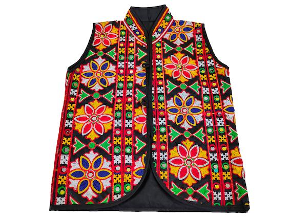 Banjara Jackets Embroidery Work small kids jacket Handmade Embroidered Jackets for boys,girls Indian Antique banjara Ethnic Handmade Jacket