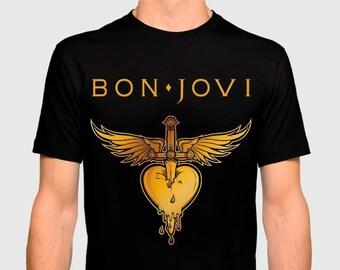 2d9d378e Bon jovi t shirt | Etsy