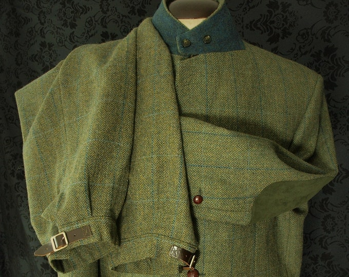 Mens Alpendale Hunting Tweed Jacket Breeks Suit in a Size 48 inch Large and a 39 inch Waist