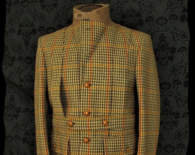 Superb Mens Vintage Bladen full Norfolk Tweed Hunting Shooting Jacket in a  Size 40 inch  Medium
