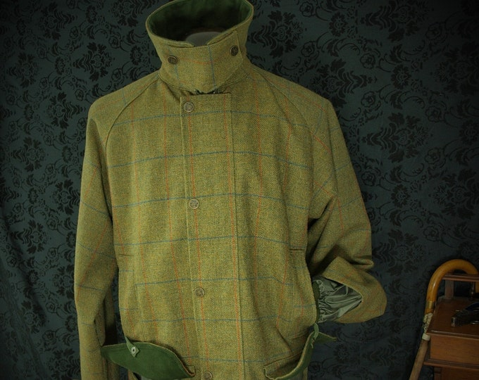Mens Alan Paine Country Tweed Coat in a Size XL to XXL a 46 to 48 inch chest