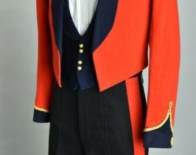 Superb Coldstream Guards Officers' Cold War Era Bespoke Mess Dress Uniform Bespoke from Top Tailors