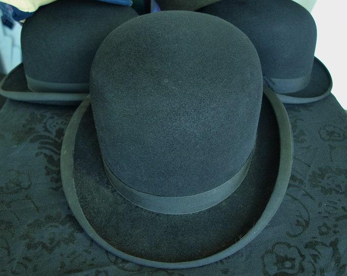 Mens National Hatters Vintage Bowler Hat 56 cm 7 1/4 inch medium large
