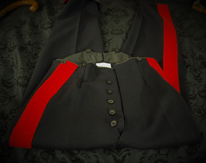 Best Quality Johns & Pegg London dated 1939  No1 Dress Trousers Mess Dress Trousers Size 28 Waist and 32 Leg