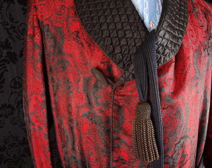 sold....Victorian Silk Dressing Gown Vintage Tweed Norfolk Jackets Suits Breeks...sold
