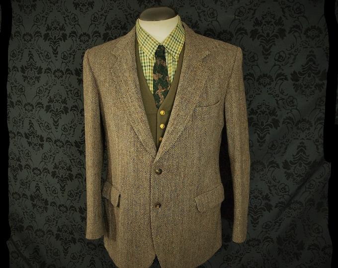 Mens vintage Magee Donegal Tweed Jacket Size 40 Medium