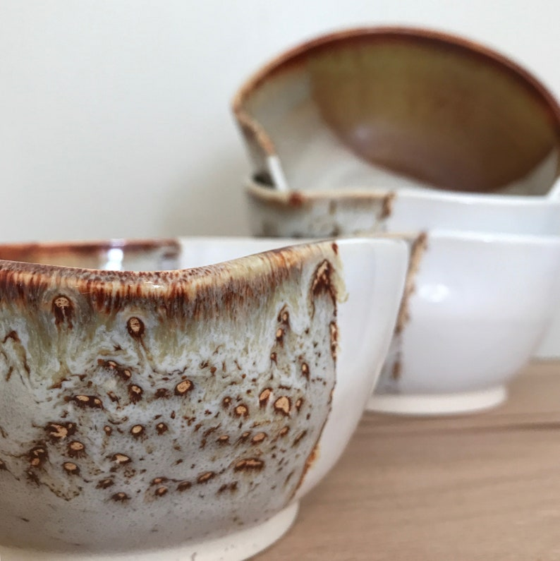 serving Stoneware Bowl cereal Handmade pottery for soup