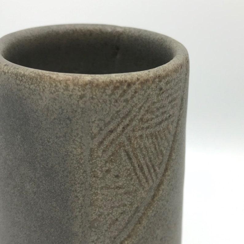 Stoneware Vase  Bud Vase Handmade pottery for flowers arrangements