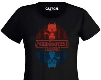 3f527ee08 Reality Glitch Women's Schrodinger Things T-Shirt